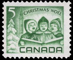 Children singing Carols Canada Postage Stamp | Christmas