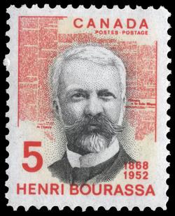 Henri Bourassa, 1868-1952 Canada Postage Stamp
