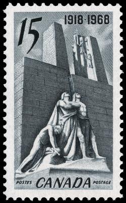 Armistice, 1918-1968 Canada Postage Stamp