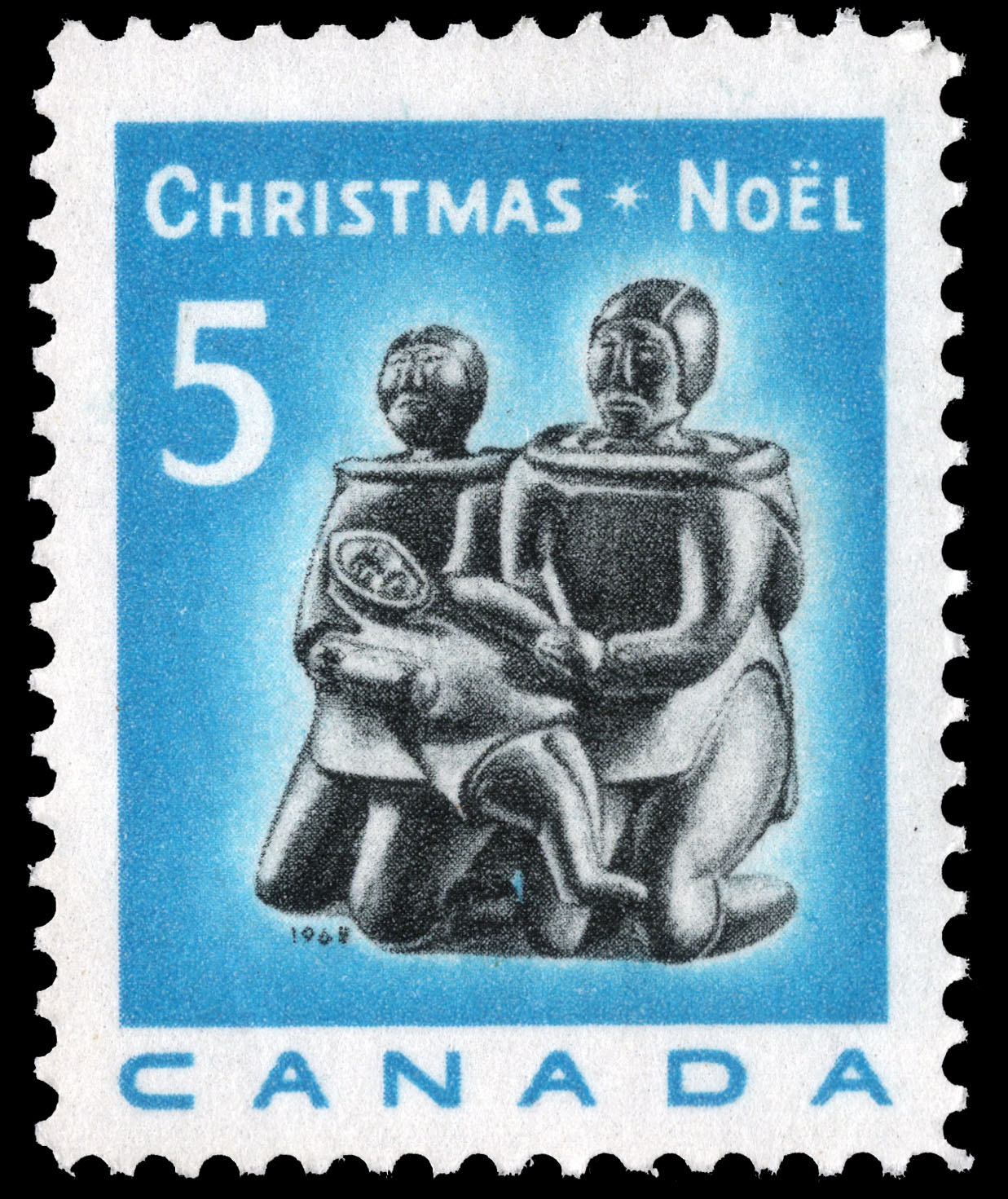 Family Group Canada Postage Stamp