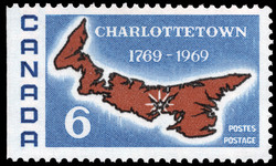 Charlottetown, 1769-1969 Canada Postage Stamp