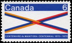 Manitoba Centennial, 1870-1970 Canada Postage Stamp