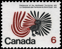 Centennial of the Northwest Territories, 1970 Canada Postage Stamp