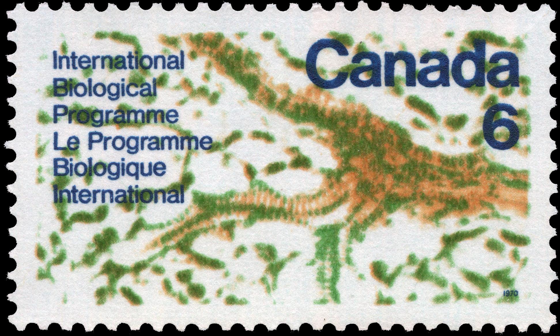 International Biological Programme Canada Postage Stamp