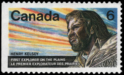 Henry Kelsey, First Explorer of the Plains Canada Postage Stamp