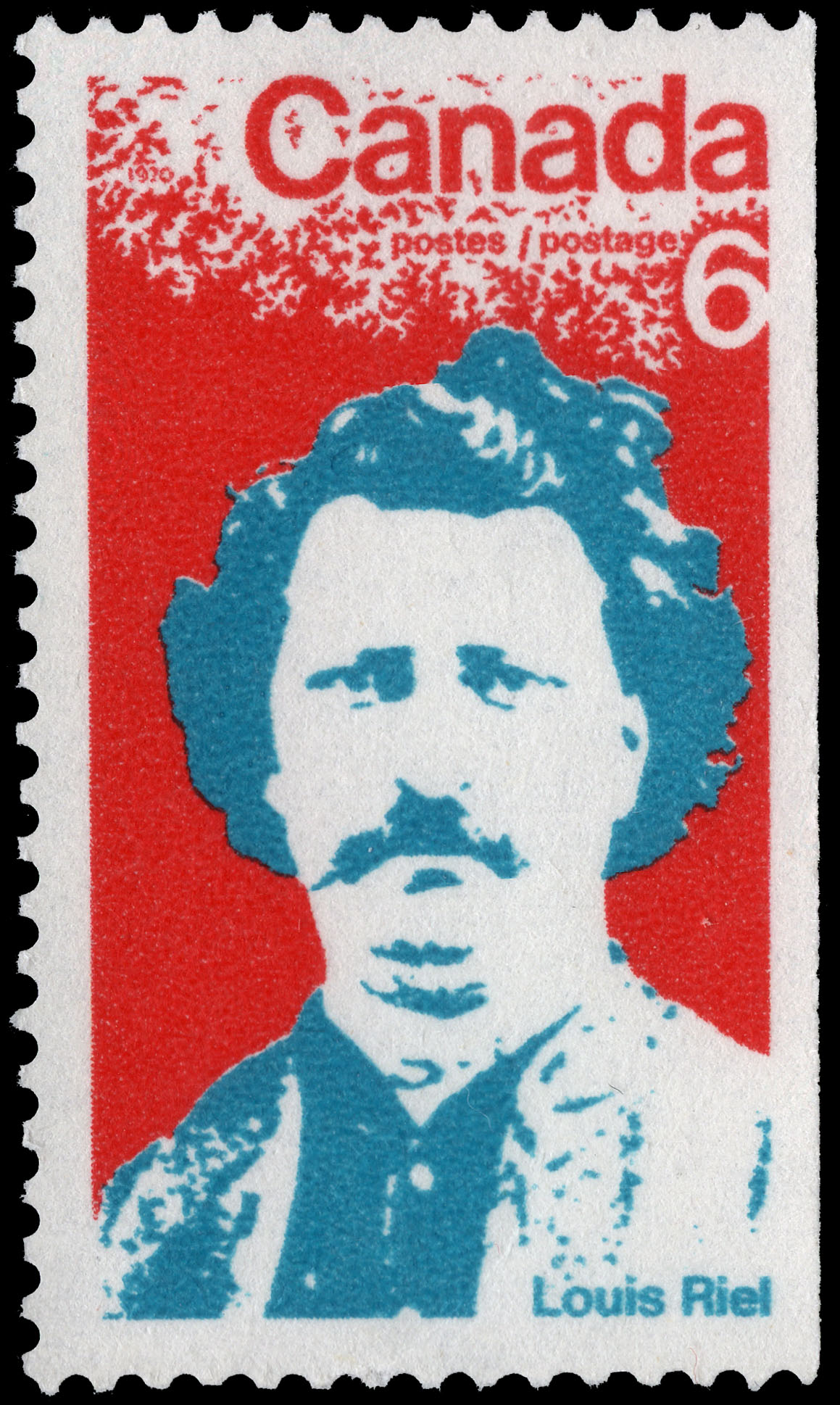 Louis Riel Canada Postage Stamp