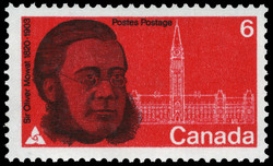 Sir Oliver Mowat, 1820-1903 Canada Postage Stamp