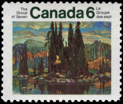 The Group of Seven Canada Postage Stamp