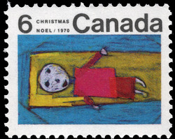 Christ Child Canada Postage Stamp | Christmas