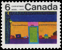 Toy Store Canada Postage Stamp | Christmas