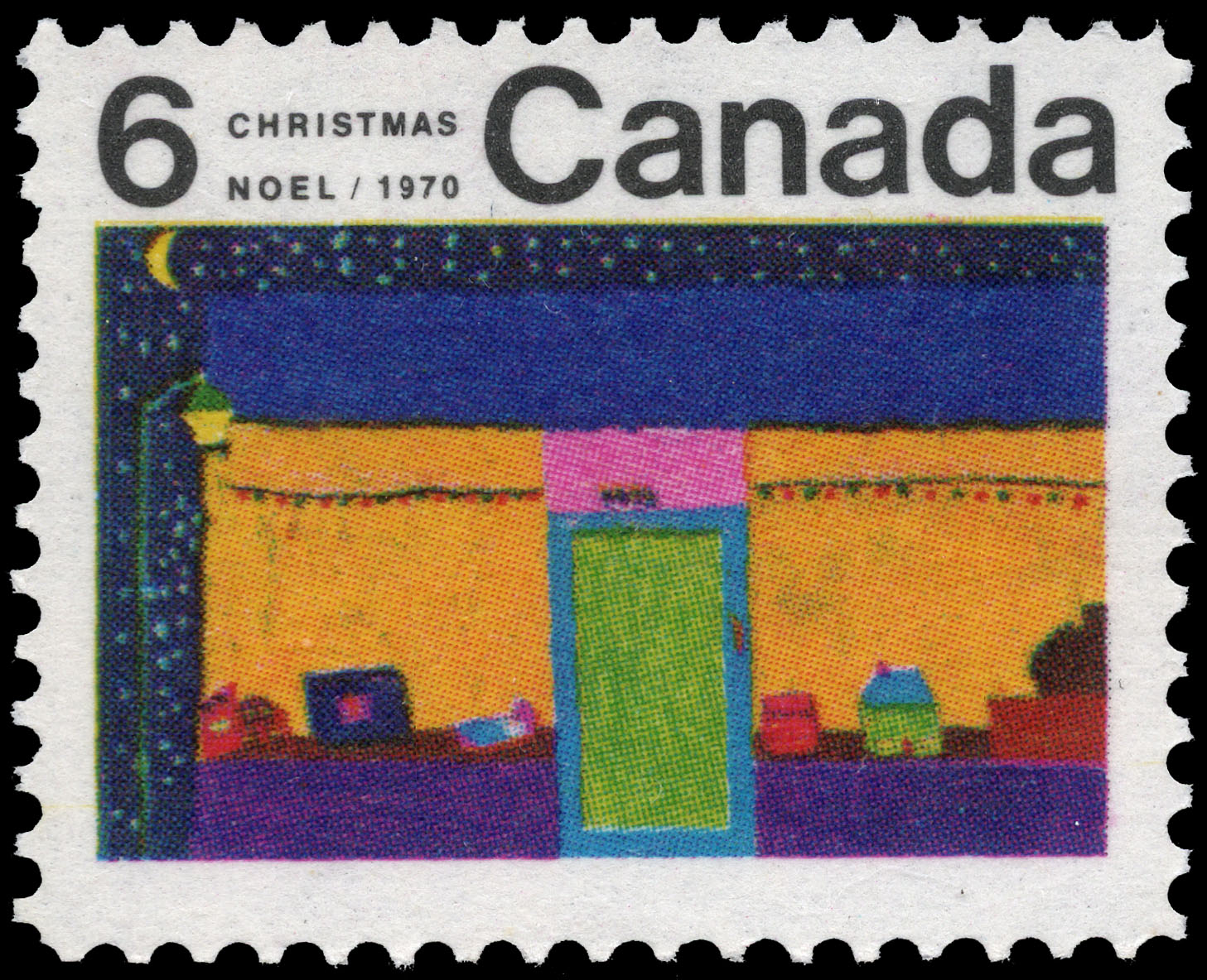 Toy Store Canada Postage Stamp