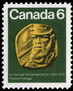 Sir Donald Alexander Smith, 1820-1914 Canada Postage Stamp