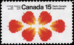 Radio Canada International, Speaking to the World Canada Postage Stamp