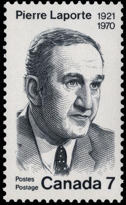 Pierre Laporte, 1921-1970 Canada Postage Stamp