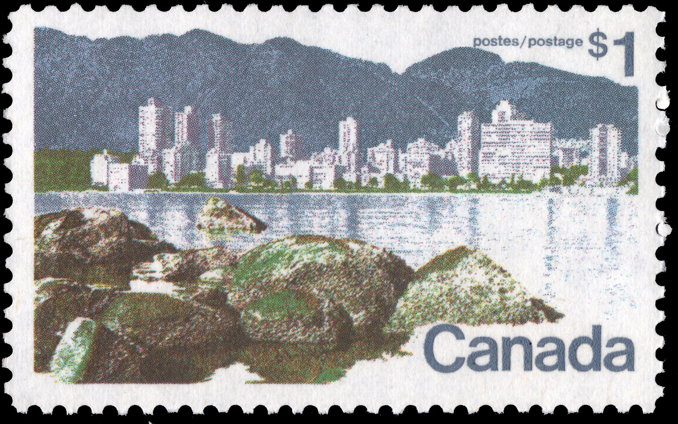 Vancouver Canada Postage Stamp