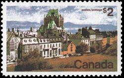 Quebec Canada Postage Stamp