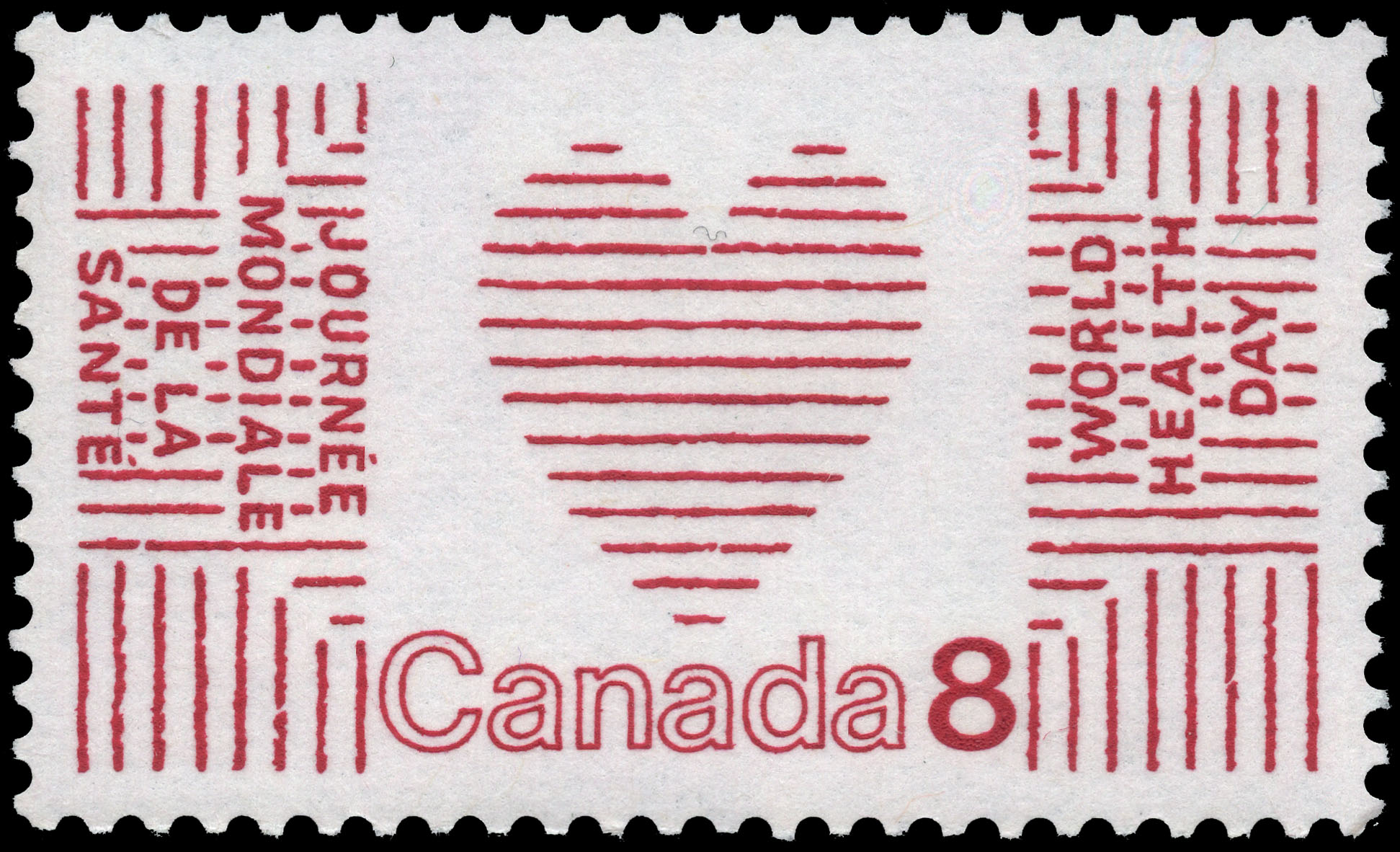 World Health Day Canada Postage Stamp