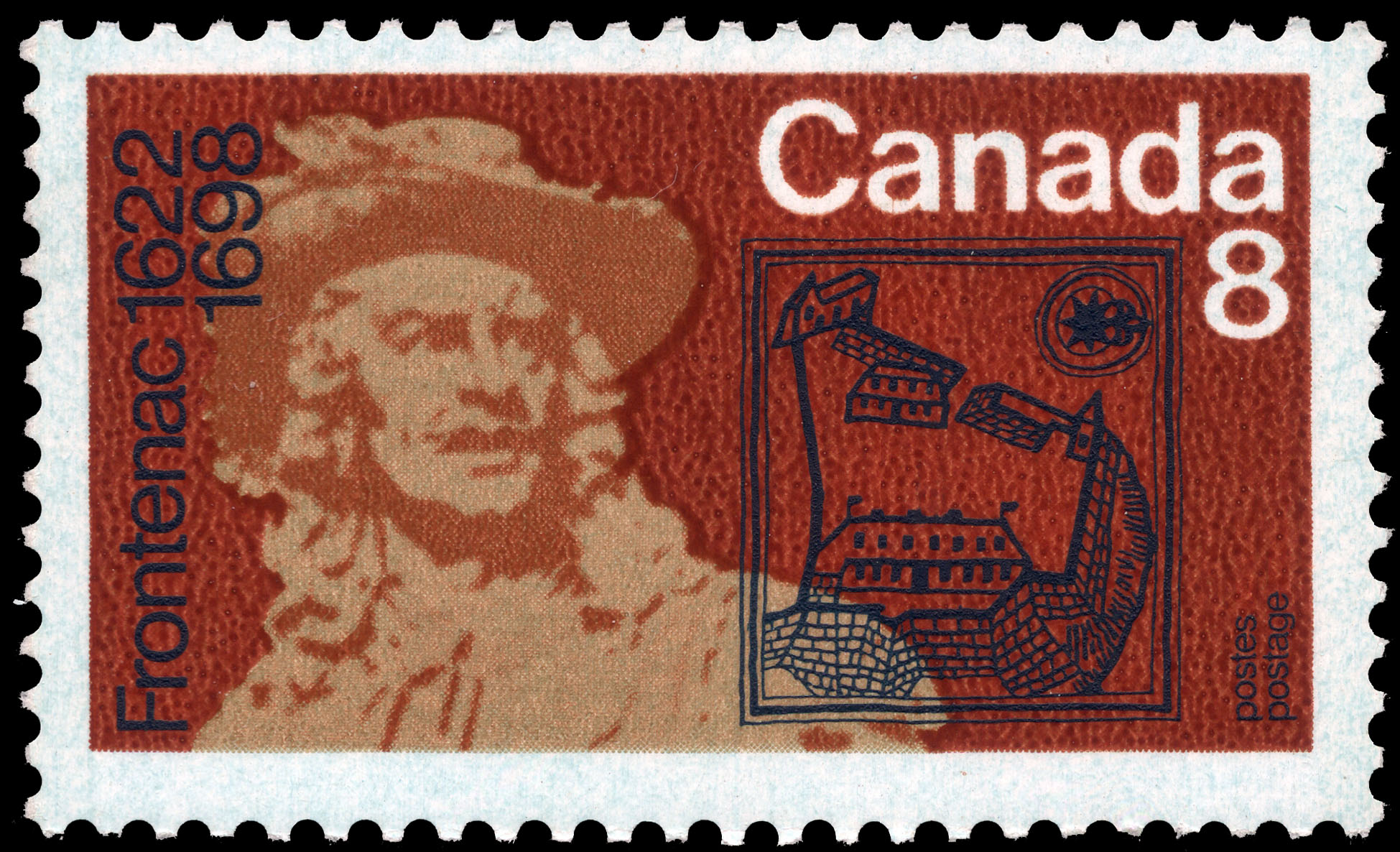 Frontenac, 1622-1698 Canada Postage Stamp