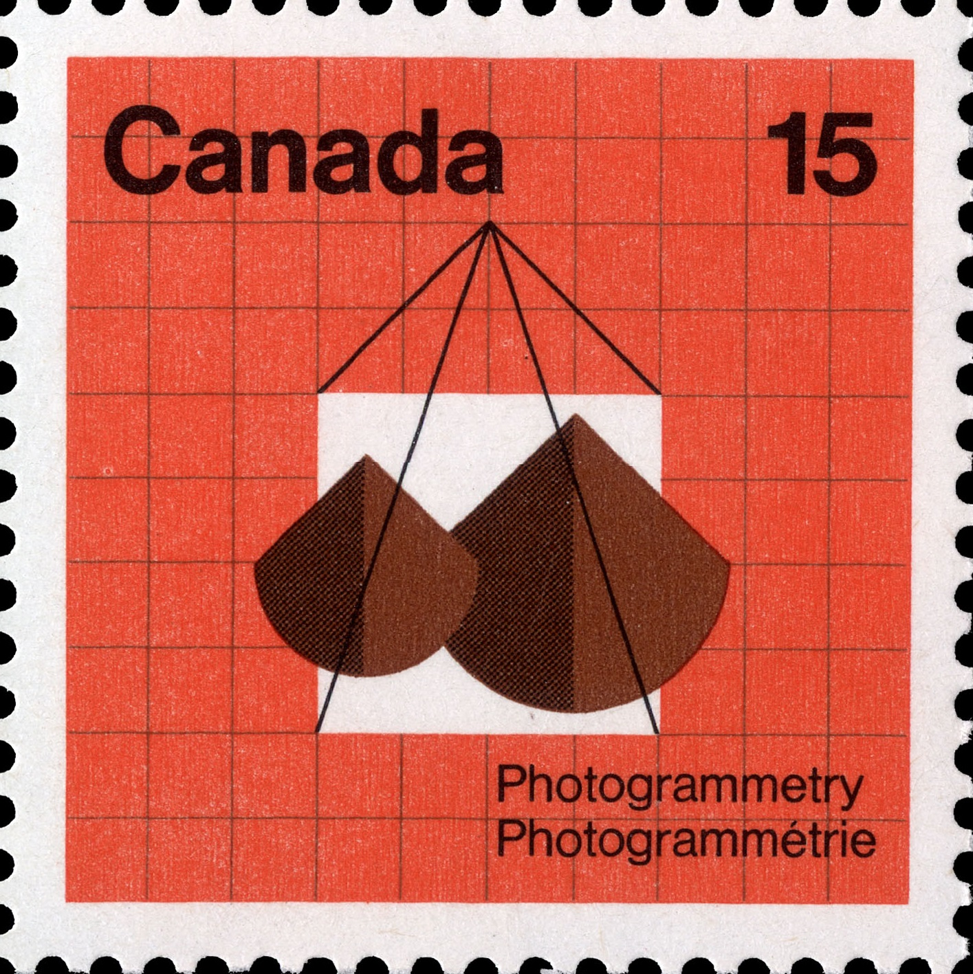 Photogrammetry Canada Postage Stamp
