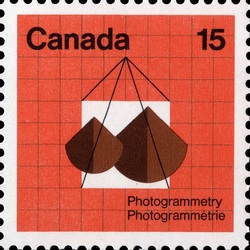 Photogrammetry Canada Postage Stamp | Earth Sciences