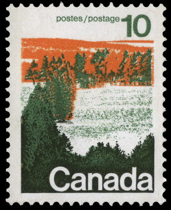 Forests of Central Canada Canada Postage Stamp