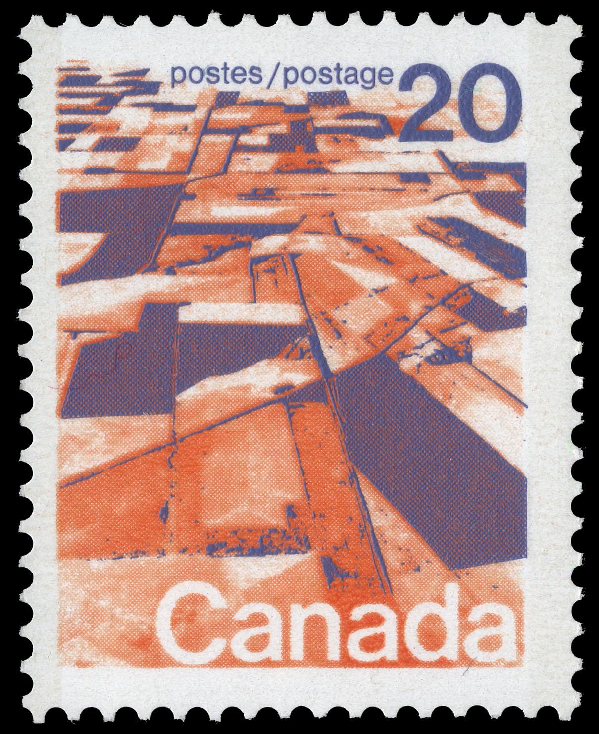 Prairie Mosaic Canada Postage Stamp