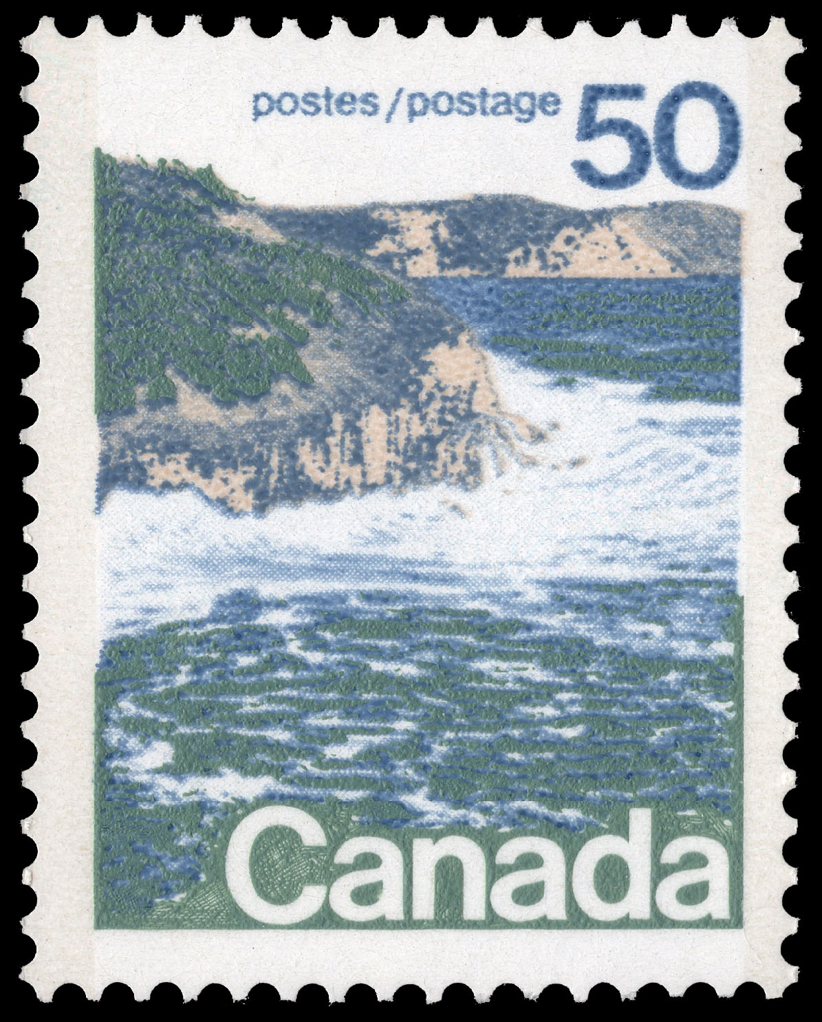 Canadian Seashore Canada Postage Stamp