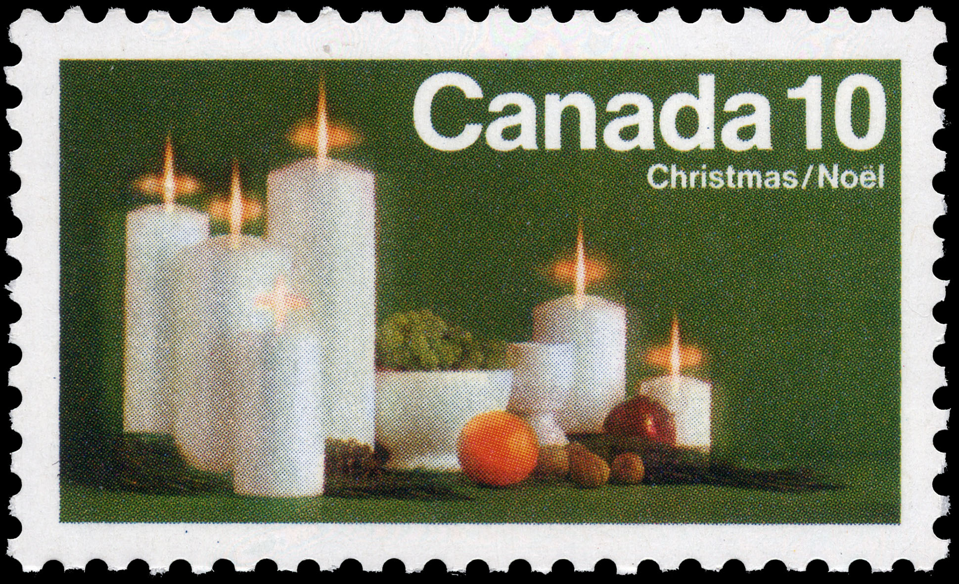 Candles Canada Postage Stamp