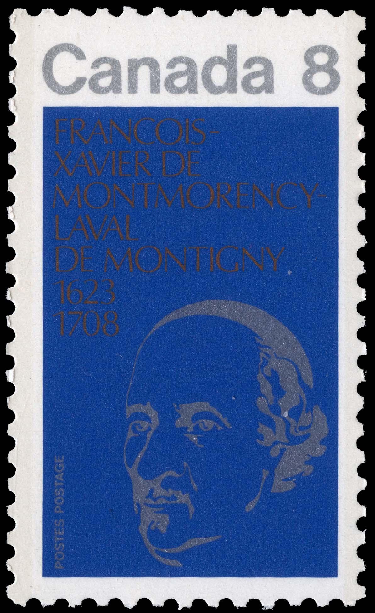 Francois-Xavier de Montmorency-Laval de Montigny, 1623-1708 Canada Postage Stamp