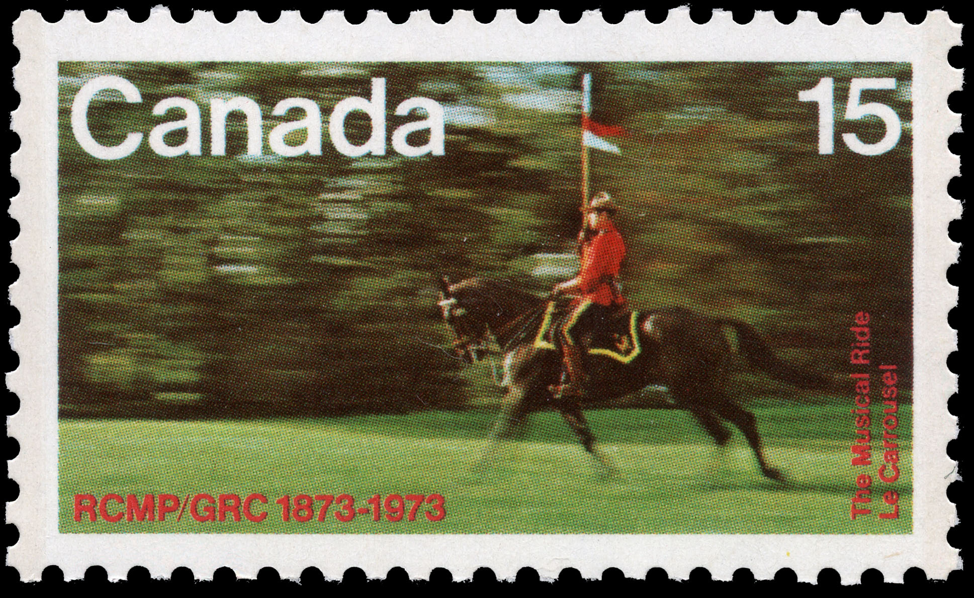 The Musical Ride Canada Postage Stamp