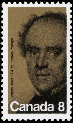 Joseph Howe, 1804-1873 Canada Postage Stamp