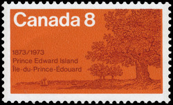 Prince Edward Island, 1873-1973 Canada Postage Stamp