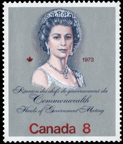 Commonwealth Heads of Government Meeting, 1973 Canada Postage Stamp