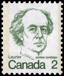 Laurier Canada Postage Stamp | Caricature Definitives