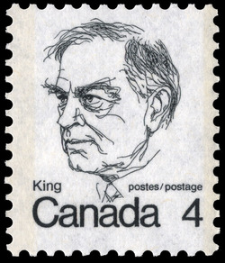 King  Postage Stamp