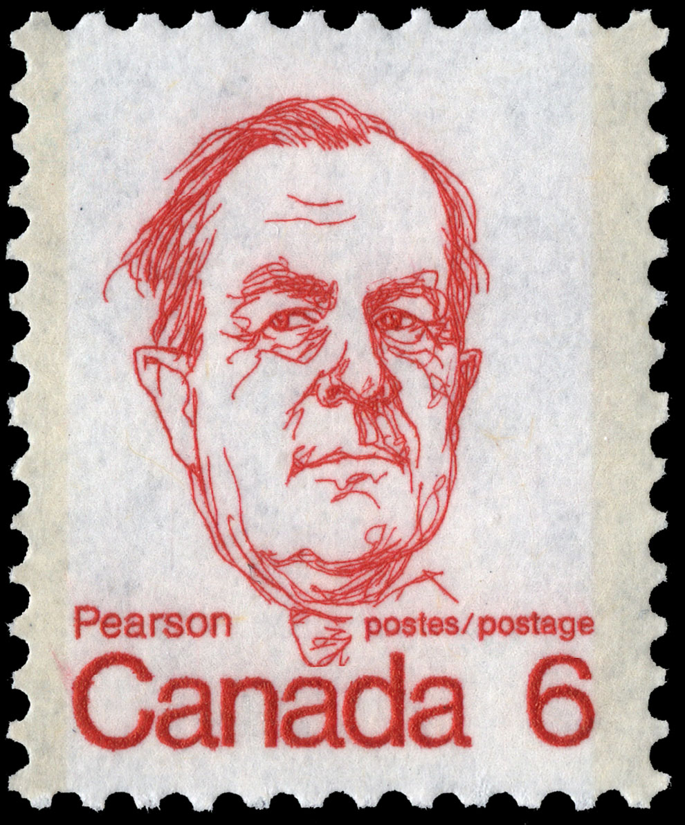 Pearson Canada Postage Stamp | Caricature Definitives