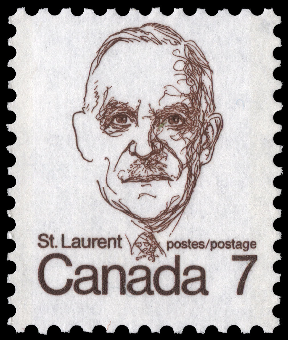 Saint-Laurent Canada Postage Stamp