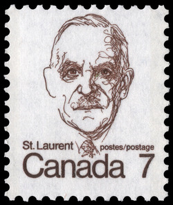 Saint-Laurent Canada Postage Stamp | Caricature Definitives