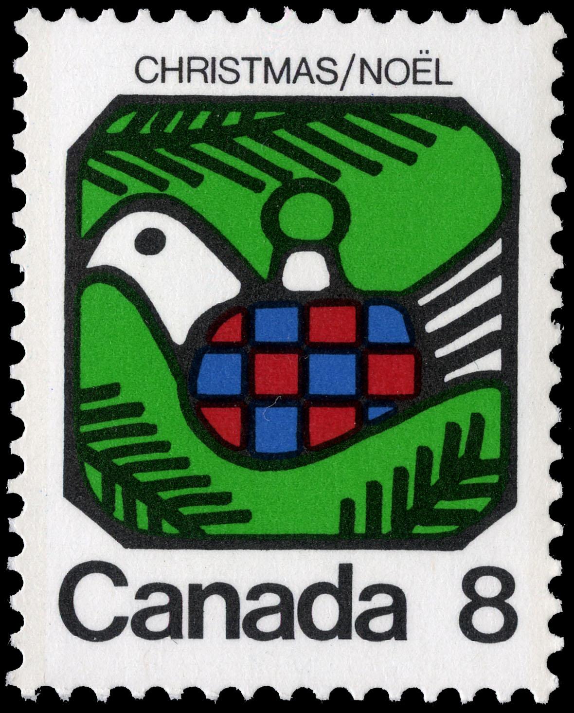 Dove Canada Postage Stamp | Christmas