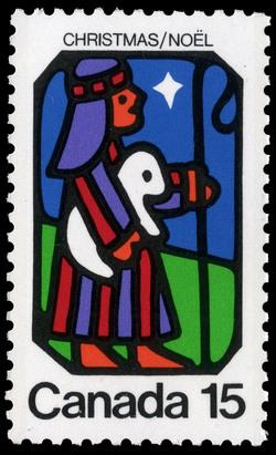 Shepherd Canada Postage Stamp | Christmas