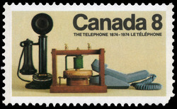 The Telephone, 1874-1974 Canada Postage Stamp