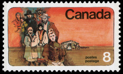 Prairie Settlers Canada Postage Stamp