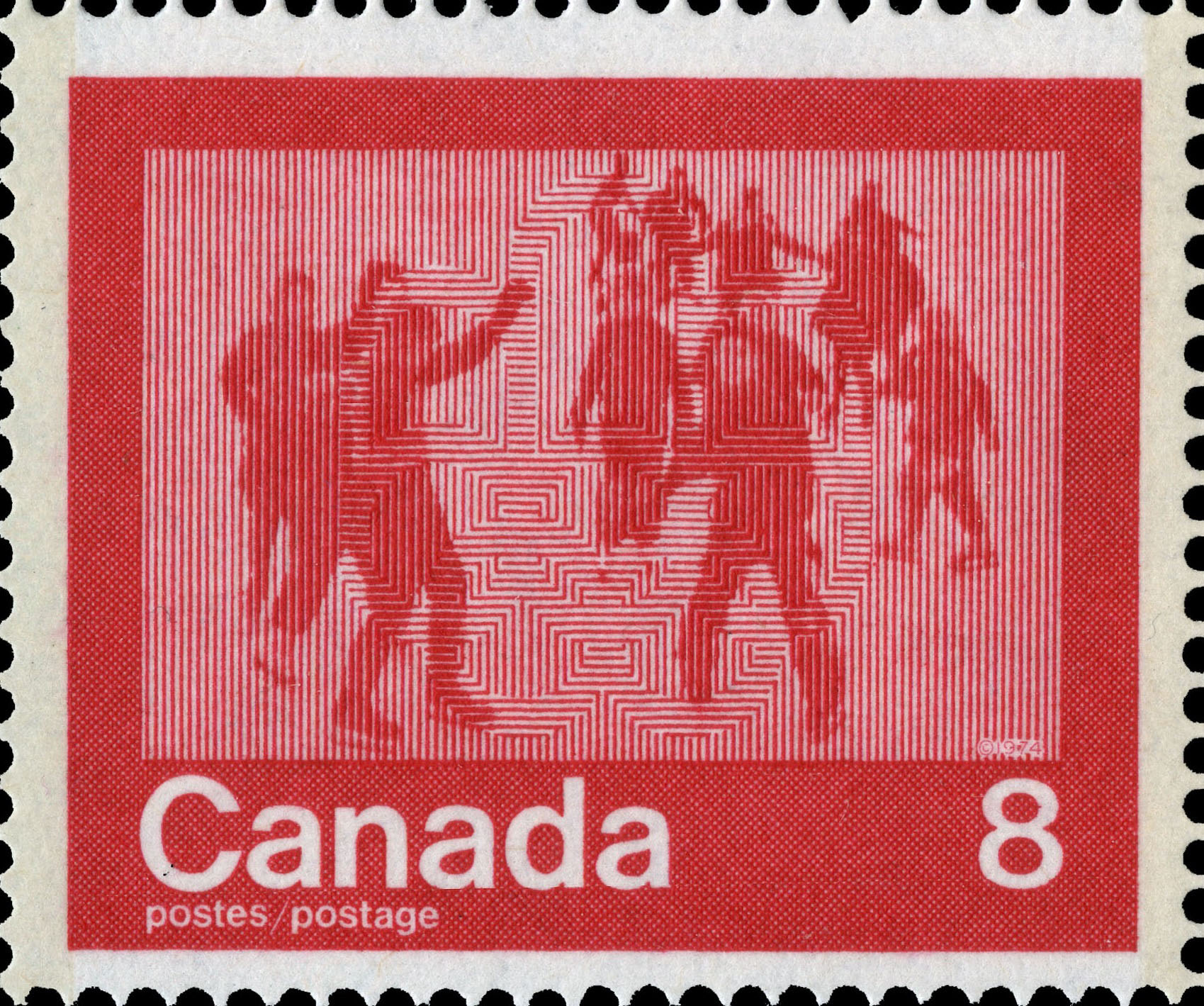 Skating Canada Postage Stamp | 1976 Olympic Games, Keeping Fit