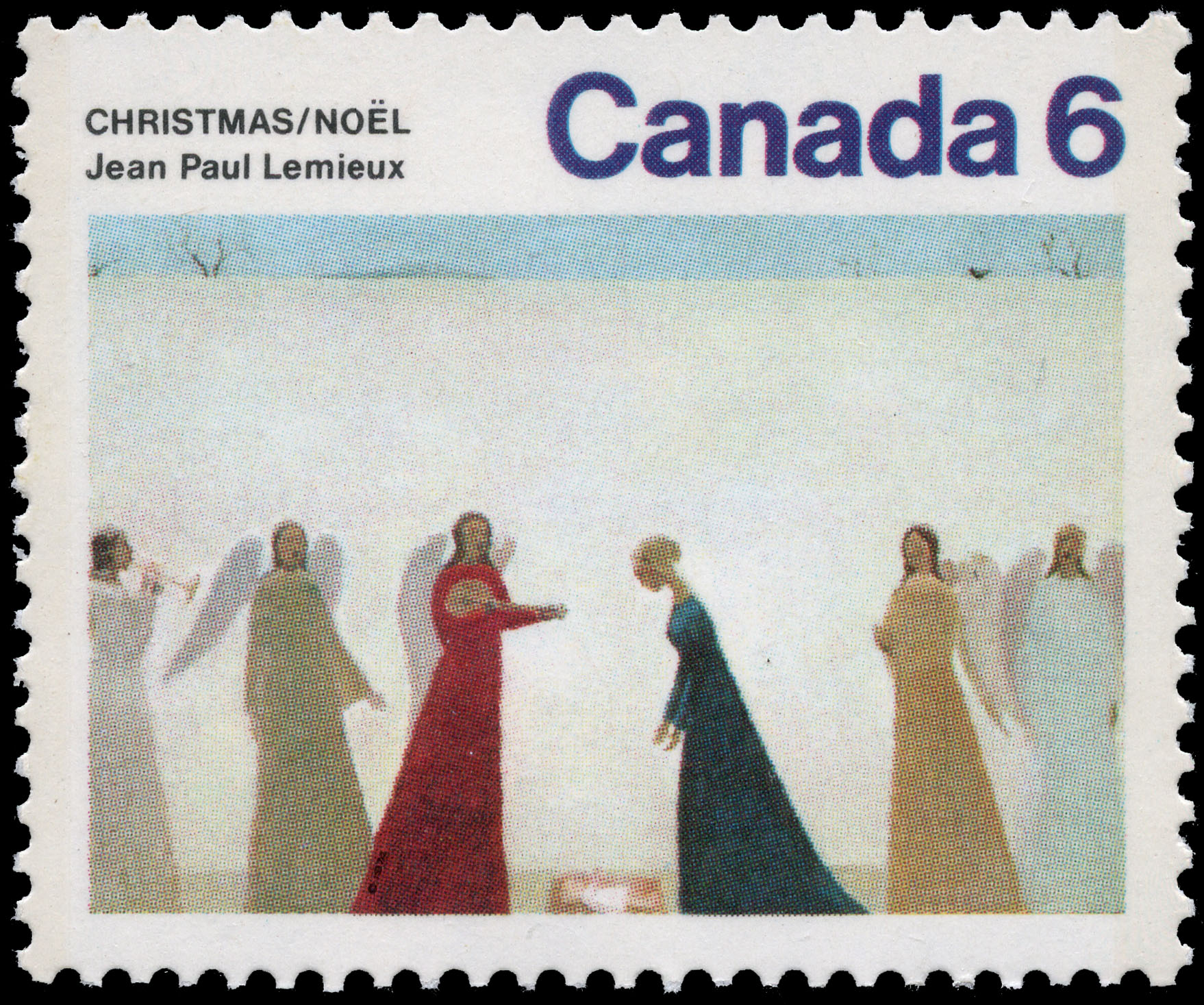 Nativite Canada Postage Stamp | Christmas