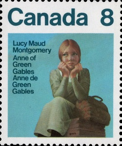 Lucy Maud Montgomery, Anne of Green Gables Canada Postage Stamp