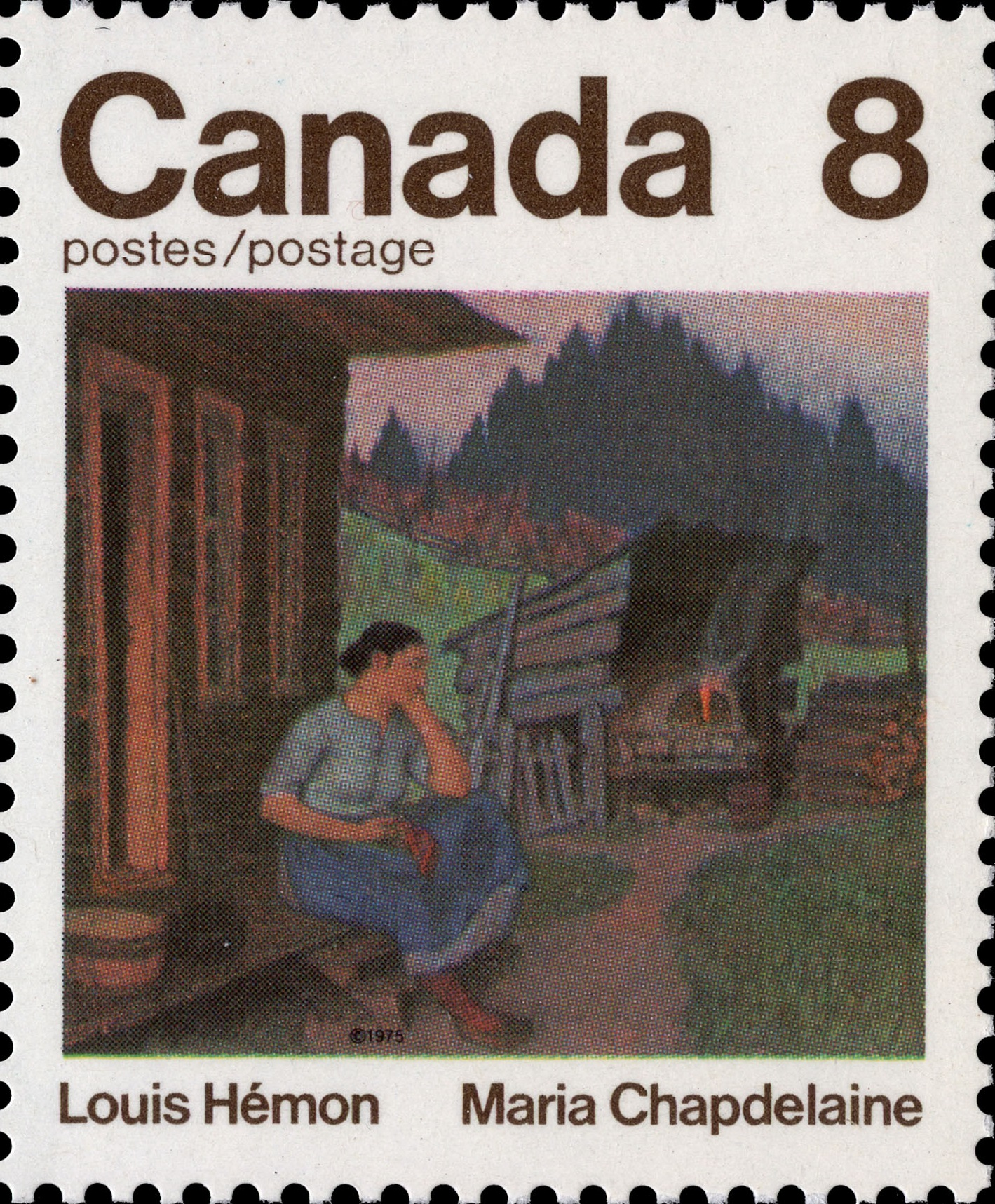 Louis Hemon, Maria Chapdelaine Canada Postage Stamp