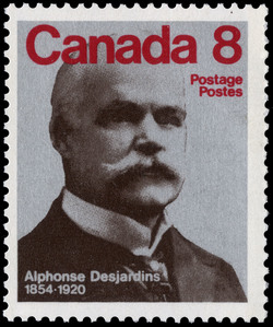 Alphonse Desjardins, 1854-1920 Canada Postage Stamp