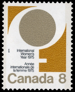 International Women's Year, 1975 Canada Postage Stamp