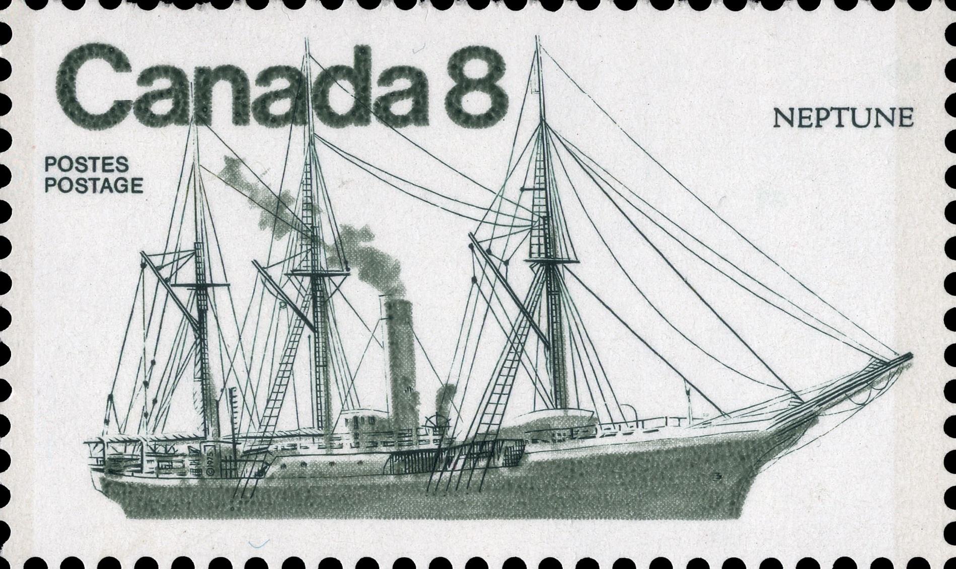 Neptune Canada Postage Stamp