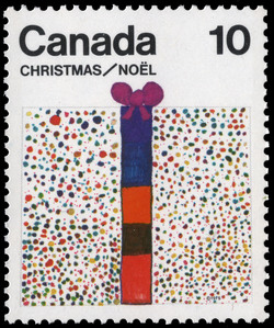 Gift Canada Postage Stamp | Christmas
